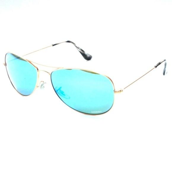 78c53957504 Ray Ban CHROMANCE Blue Mirror Polarized RB3562 112.  M 5b2fff7baa8770baf545b75c